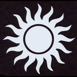 sunshine decal